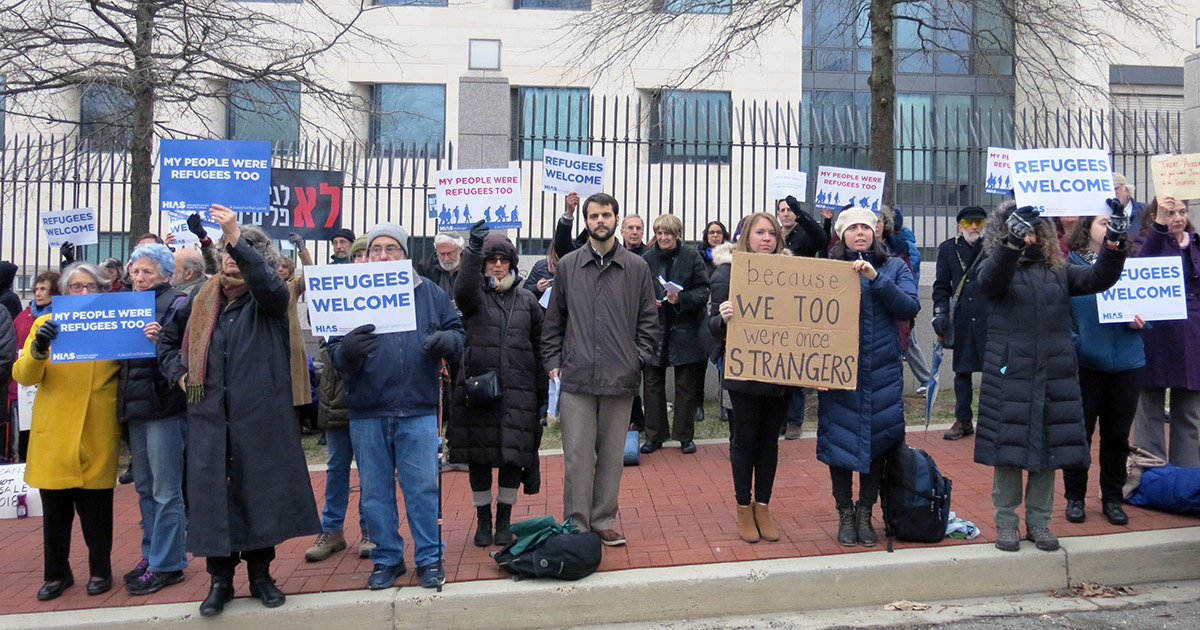 Ahead of Passover, Jews Rally for African Asylum Seekers | HIAS