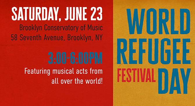 world refugee day event nyc