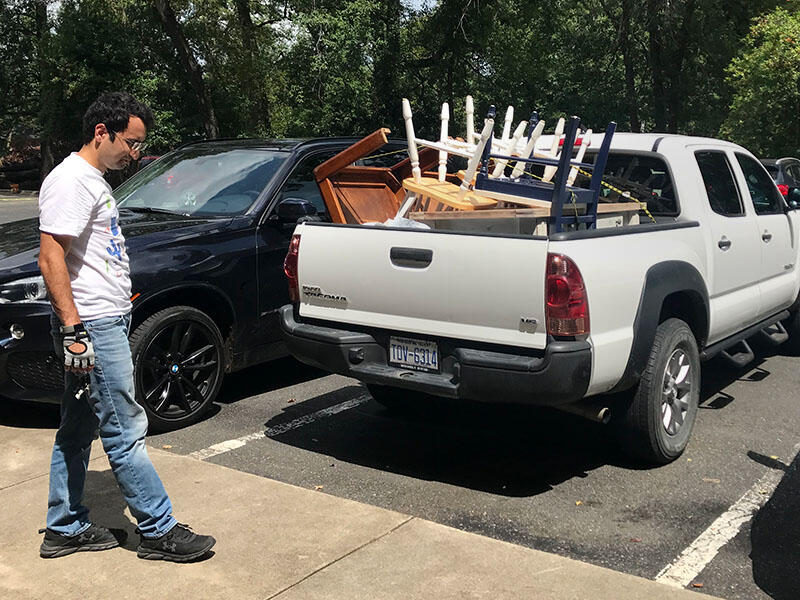 Preparing to welcome Afghan refugees in Charlotte, NC.