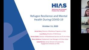 Refugee Resilience and Mental Health During COVID-19